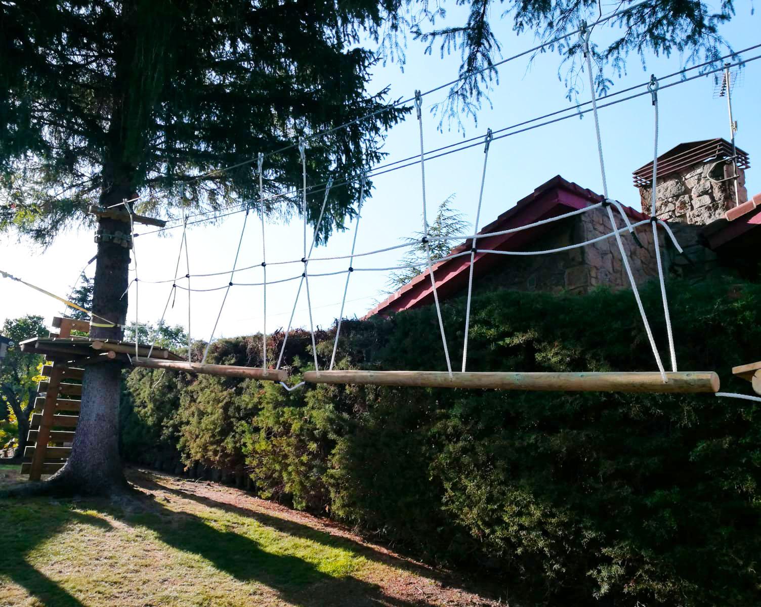 Parque de aventuras para niños en Madrid
