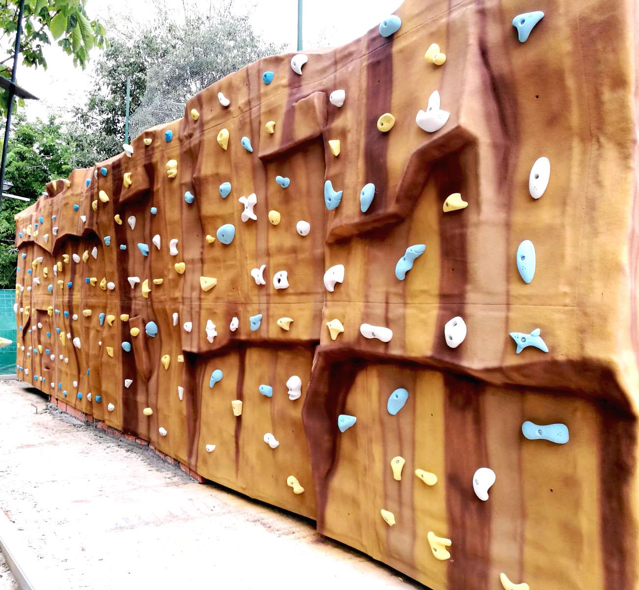 Búlder Relief en el centro de Madrid
